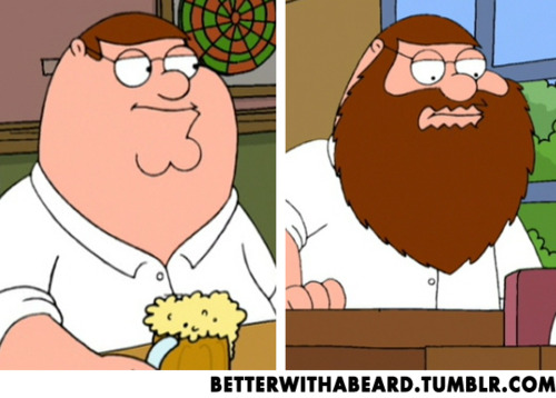 The Bearded Man: Great Bearded Bloke #5 … Peter Griffin « Shumpty.