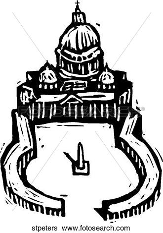Clip Art of St Peter's stpeters.