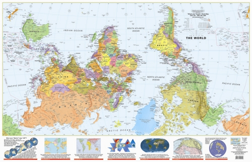 Explanation & Guide of the Peters World Map.