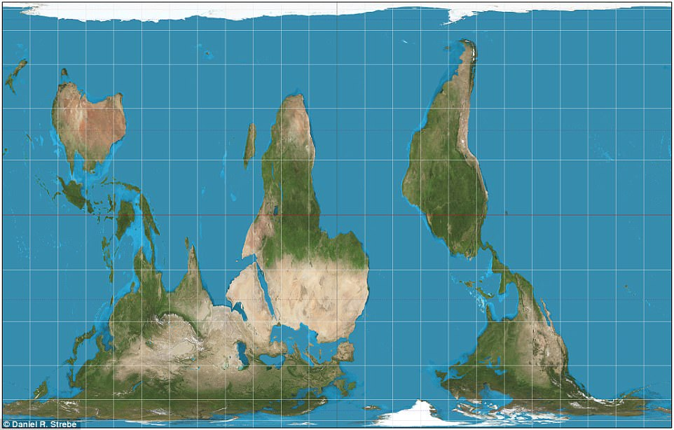 Five maps that will change the way you look at the world.