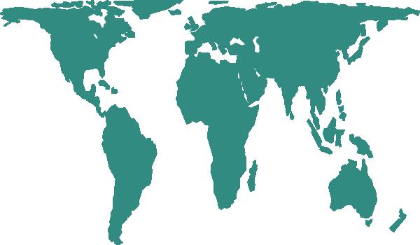 World Map Clip Art at Clker.com.