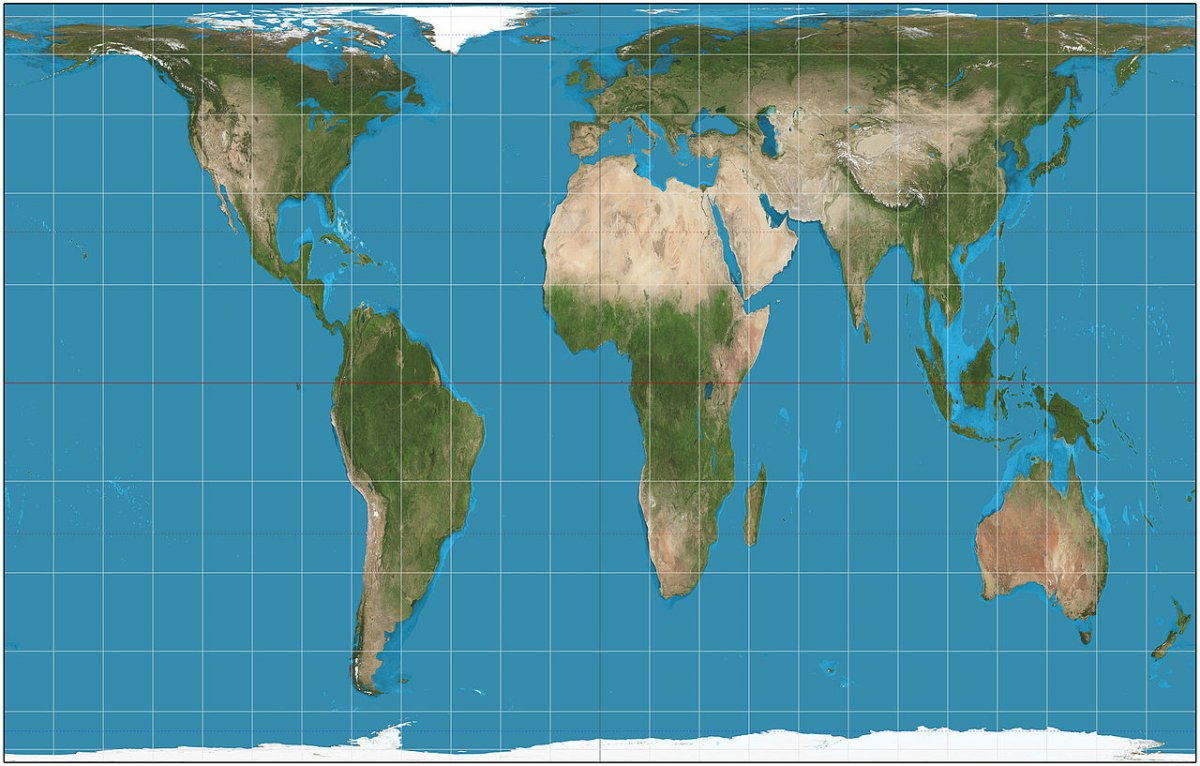 Mercator Projection v. Gall.