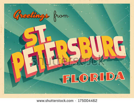 St Petersburg Florida Stock Vectors, Images & Vector Art.
