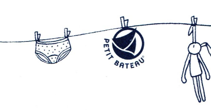 Memi The Rainbow: timeless vintage logo #10 Petit Bateau.