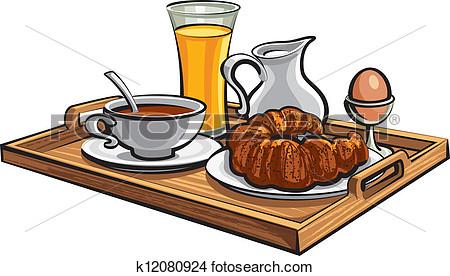 Images clipart petit dejeuner.