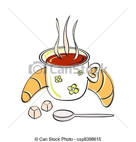 Clipart Vector of Breakfast.