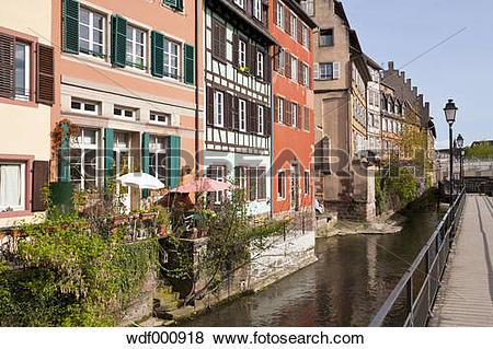 Pictures of France, Alsace, Strasbourg, Petite.