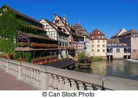 Stock Photography of Strasbourg.