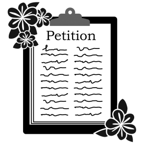 Petition Clipart Group (49+) #213332.