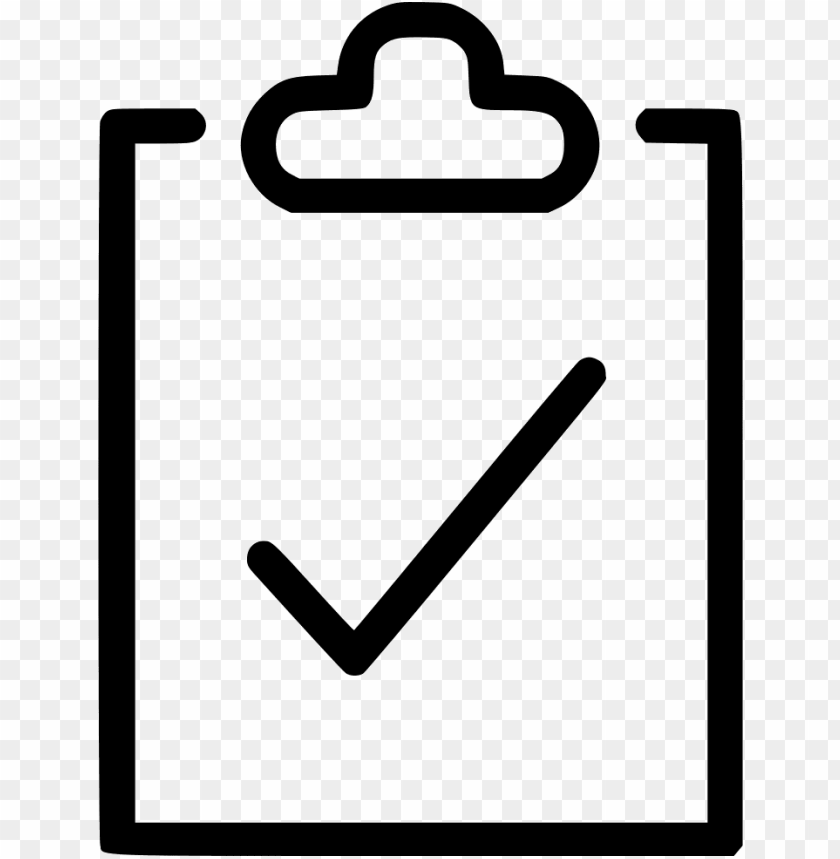 to do clipboard survey petition svg icon free.