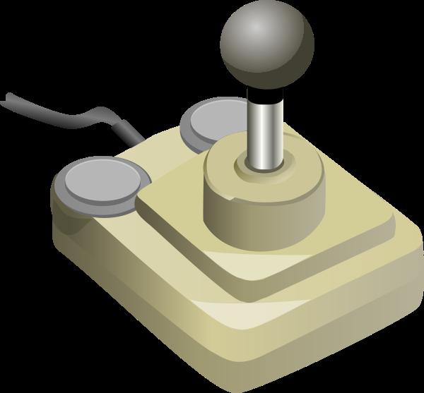 joystick beige gray petr 01 medium 600pixel clipart, vector clip.