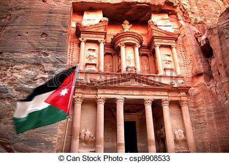 Pictures of Treasury at Petra,Jordan.