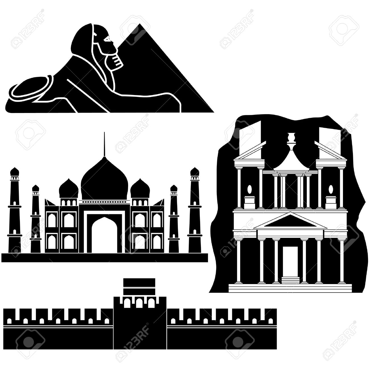113 Petra Stock Vector Illustration And Royalty Free Petra Clipart.