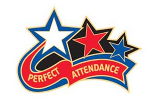 Perfect Attendance Clipart.