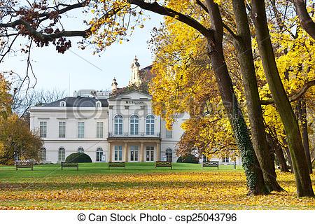 Stock Photographs of empire style Kinsky palace Musaion, Petrin.