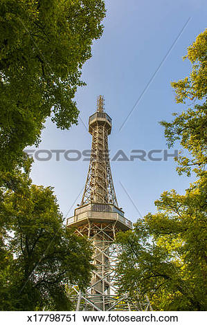 Stock Photography of Petrin Park Lookout Tower x17798751.