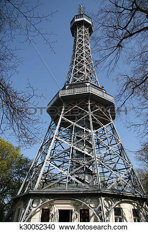 Stock Photography of Petrin Lookout Tower (Petrinska roz k30052340.