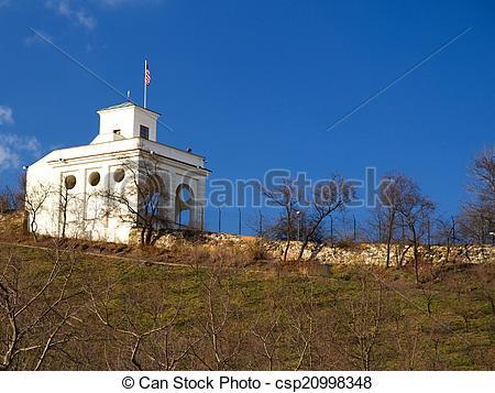 Stock Photo of Prague Petrin hill.