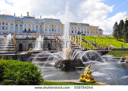 """""""grand_petergof_palace"""" Stock Photos, Royalty."""