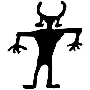 Petroglyph Clip Art.