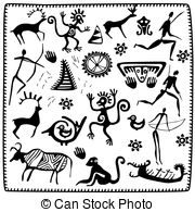 Petroglyph Illustrations and Clip Art. 203 Petroglyph royalty free.