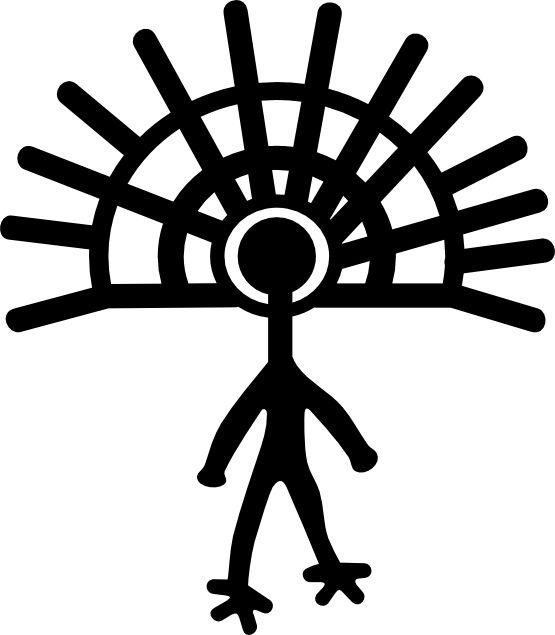 Petroglyphs Clipart.