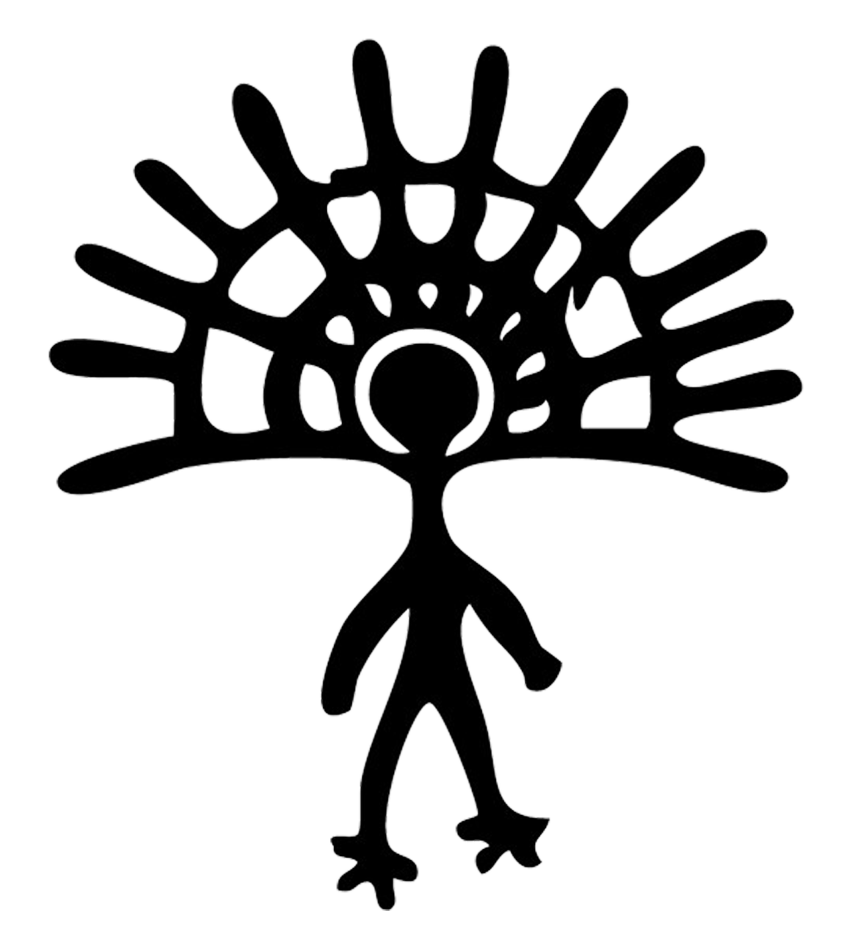 Hawaiian Petroglyphs Clipart.