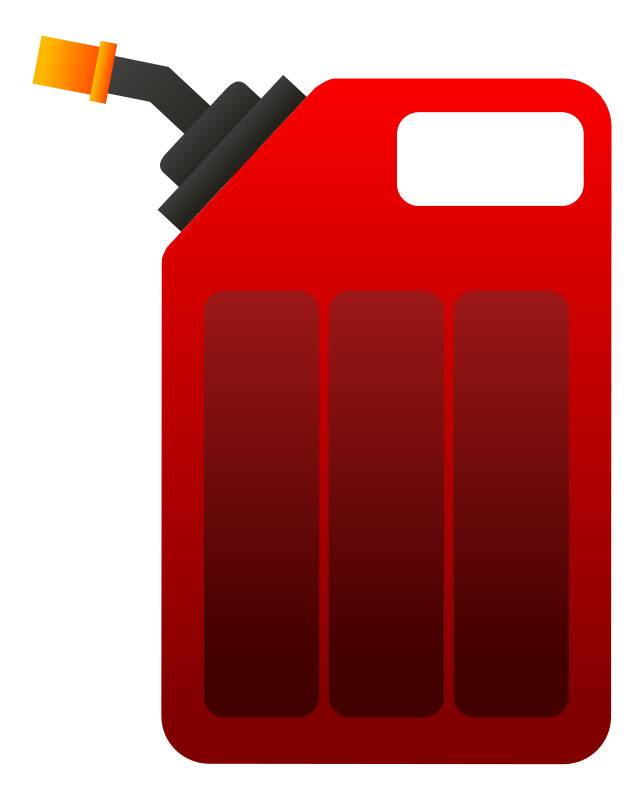 gas clipart gas container clip #art.