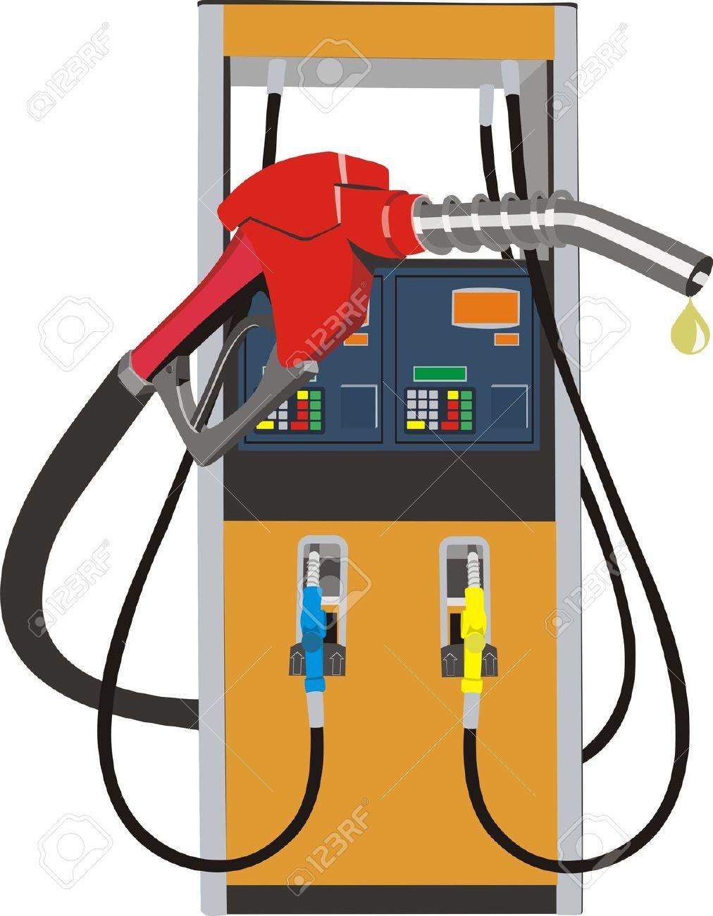 Clipart petrol pump.