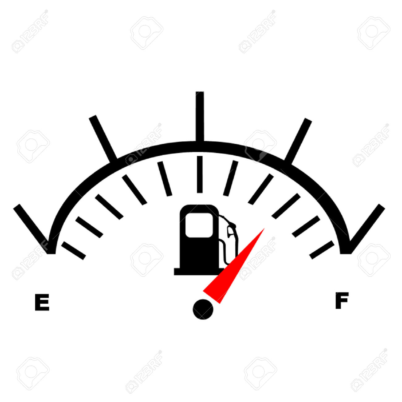 Petrol Fuel Gauge Royalty Free Cliparts, Vectors, And Stock.