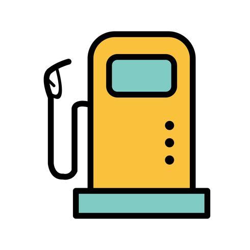 Fuel Station Vector Icon.