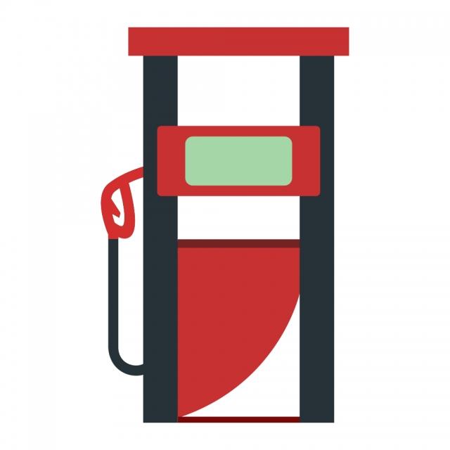 Fuel Station Vector Icon, Fuel Icon, Petrol Pump Icon.