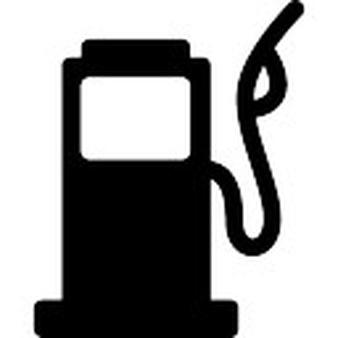 Petrol Pump Vector.