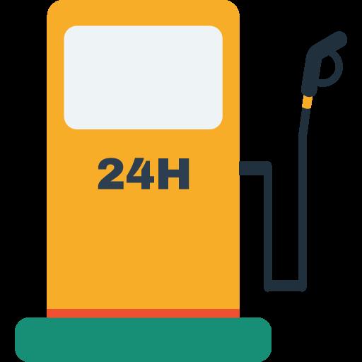 petrol pump icon.
