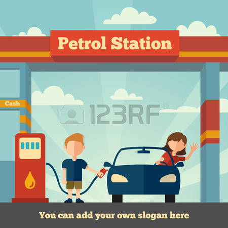 20,854 Fuel Station Stock Vector Illustration And Royalty Free.