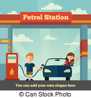 Petrol station Vector Clip Art Royalty Free. 5,903 Petrol station.