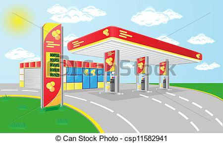 Petrol station Illustrations and Clip Art. 8,527 Petrol station.