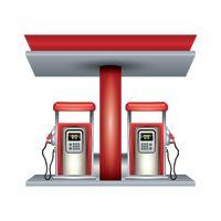 Petrol nozzle Vector Image.