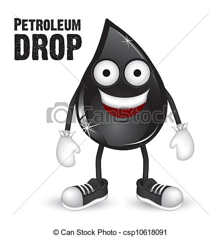 Clipart Vector of petroleum industry.