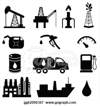 Petroleum Industry Clipart.