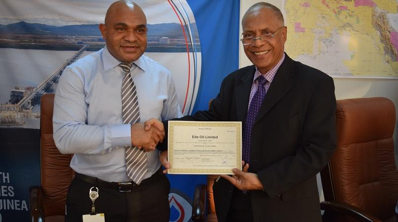 Petromin in discussions with Kumul Holdings to effect.