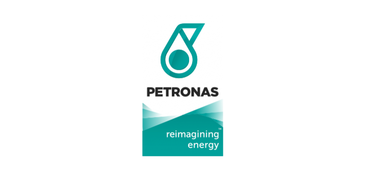 Petronas Reimagining energy logo.