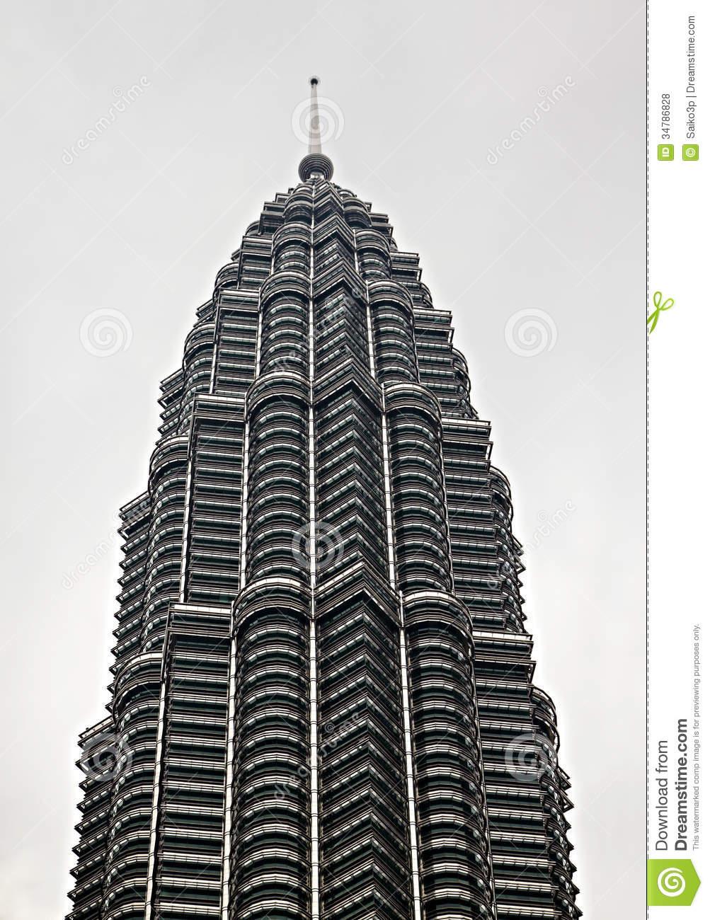 Petronas Towers Editorial Stock Photo.