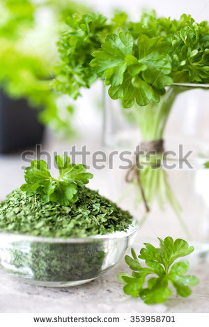 Petroselinum Crispum Stock Photos, Royalty.
