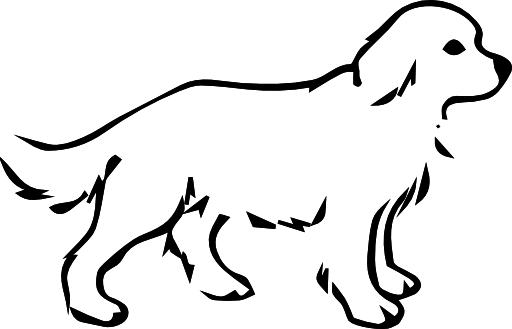 Dog black and white dog clipart black and white.