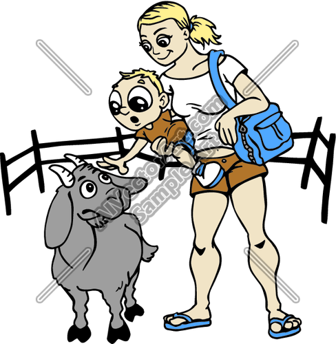 Petting Zoo Clip Art.