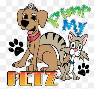 Free PNG Petting Dog Clipart Clip Art Download.