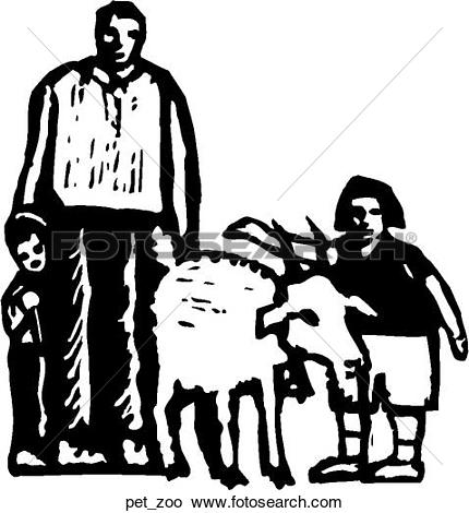 Clipart of Petting Zoo pet_zoo.