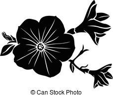 Petunia Illustrations and Clip Art. 318 Petunia royalty free.
