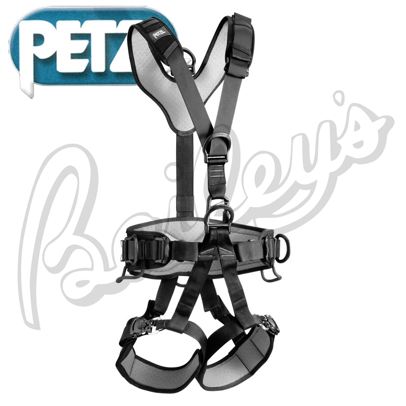 Petzl C710fn Navaho Bod Fast Black Harness.